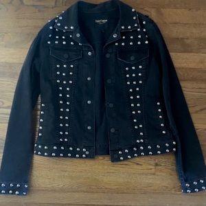 Statement Denim Studded Jacket - Juicy Couture